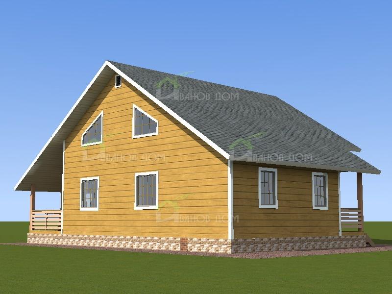 Дома из бруса под ключ недорого  фото проекты и цены
